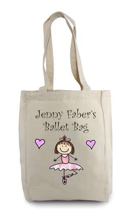 103cdd019a8 Ballet Tote Bags - Customizable and Personal Tote Bags created by ...