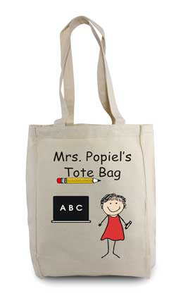 Teacher Tote Bags Customizable And Personal Tote Bags