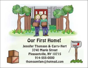 Moving Cards and Change of Address Cards