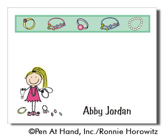 jewelry theme - personalized party invitations by the personal, Party invitations